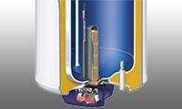 Les différents composant d'un chauffe-eau électrique